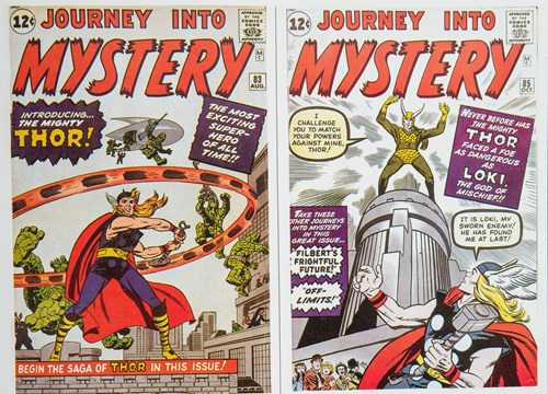 Thor Journey into Mystery comic cover artwork