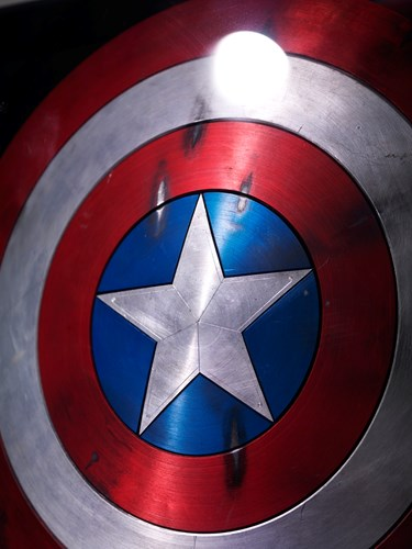 Captain America's shield at MoPOP
